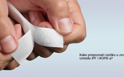 Kako prepoznati zvuk Idiopatske plućne fibroze (IPF)