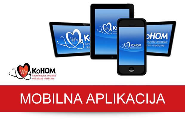 Mobilna aplikacija za članove KoHOM-a
