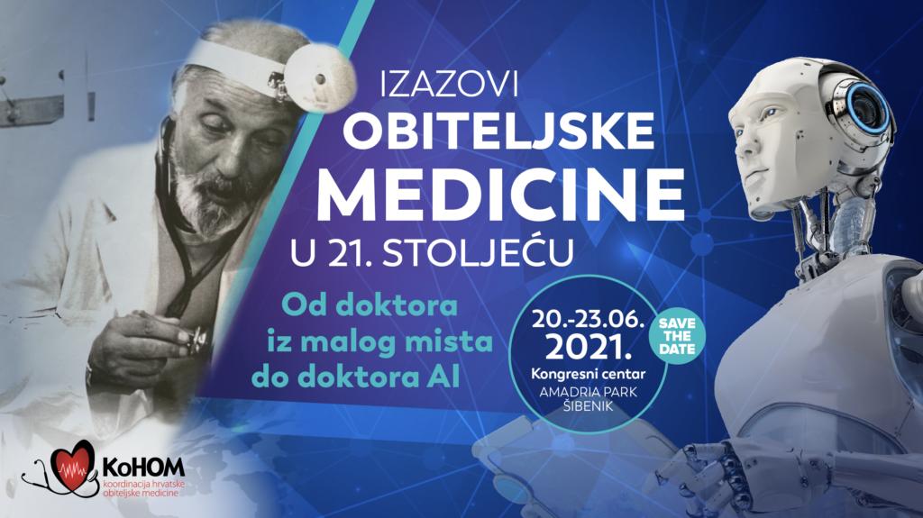 SAVE THE DATE: 12. kongres Koordinacije hrvatske obiteljske medicine