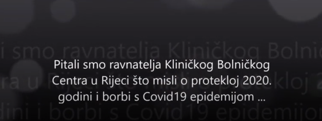 Interview s ravnateljem KBC Rijeka