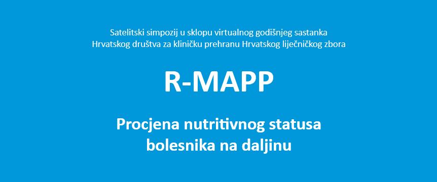 Hrvatsko društvo za kliničku prehranu: R-MAPP simpozij